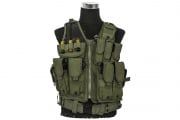 Tac 9 Industries Tactical Cross Draw Vest (OD/Blems/Factory 2nd)