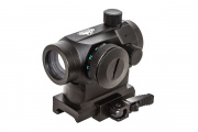 Valken 1x22 Compact Red Dot Sight R/G/B Dual QR (Weaver Mount)