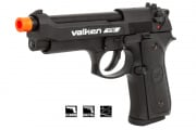 Valken VT 92 M9 Pistol CO2 Blowback Airsoft Gun (Black)