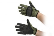 Valken Zulu Hard Knuckle Gloves (Olive/Small)