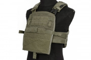 ZSHOT Crye Precision Replica AVS Base Configuration Modular Plate Carrier System (Ranger Green/Large)