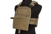 ZSHOT Crye Precision Replica AVS Base Configuration Modular Plate Carrier System (Coyote Brown/Medium)