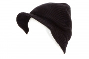 Tenergy Bluetooth Beanie Basic Knit w/ Hard Brim (Black)