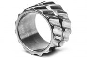 Altiworx Titanium Helical Ring Polished (Size 10)