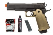 Shooter Starter Package w/ JAG Arms 5.1 GM5 Hi-Capa, 2 Magazines, Green Gas, and BBs!