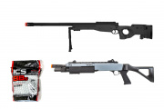 Starter Package #8 Ft. UK Arms M1196B Sniper Rifle and FABARM STF/12 Shotgun
