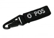 Condor Outdoor O Positive Blood Type Key Chain (Black)