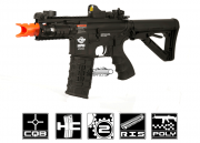 G&G Combat Machine M4 RIS CQB Fire Hawk AEG Airsoft Gun (Battery and Charger Package)