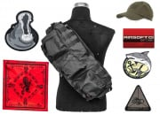 Airsoft GI $30 Gift Card/LT OP. Go Bag filled with GI SWAG feat. G4 AEG Airsoft Gun Giveaway (Black)