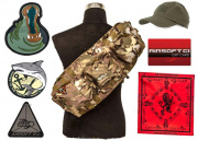 Airsoft GI $30 Gift Card/LT OP. Go Bag filled with GI SWAG feat. G4 AEG Airsoft Gun Giveaway (Camo)