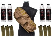 Airsoft GI Operator Shoulder Go Bag BB/M4 AEG Magazine Package (Tan)