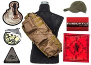 Airsoft GI $30 Gift Card/LT OP. Go Bag filled with GI SWAG feat. G4 AEG Airsoft Gun Giveaway (Tan)