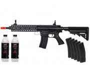 Lancer Tactical M4 RIS EVO AEG Airsoft Gun BB / Magazine Package