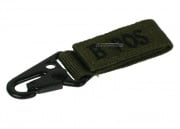 Condor Outdoor B Positive Blood Type Key Chain (OD Green)