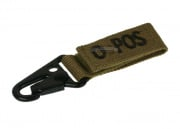Condor Outdoor O Positive Blood Type Key Chain (Tan)