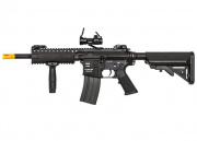 Classic Army Skirmish CA4A1 EC1 M4 RIS CQB Carbine AEG Airsoft Gun Red Dot Combo (Black)