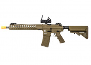 "Classic Army Skirmish Delta M4 12"" Carbine AEG Airsoft Gun Red Dot Combo (Flat Dark Earth)"
