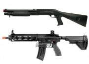 Elite Force HK 416C By VFC/M3 Tri Shot Shotgun 2 Airsoft Gun Package Deal