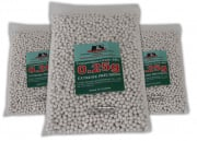 ICS Extreme Precision .25g 3500 ct. BBs 3 Bag Special ( White )