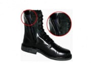 (Discontinued) Condor All Leather - Zipper Paratrooper Boots ( Size 9 )