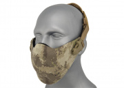 Lancer Tactical Neoprene Hard Foam Lower Half Mask (A-TACS)
