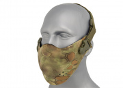 Lancer Tactical Neoprene Hard Foam Lower Half Mask (Drake)