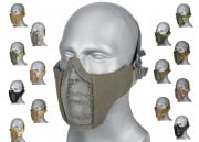 WoSporT Steel Mesh Nylon Lower Face Mask (Choose an Option)