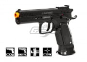 Tanfoglio Limited Custom Blowback CO2 Pistol Airsoft Gun (Black)