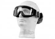 Lancer Tactical CA-201B Airsoft Safety Goggles Basic - Black Frame/Clear Lens