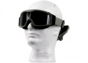 Lancer Tactical CA-203G Airsoft Safety Smoke / Clear / Yellow Multi Lens Kit Goggles Basic ( OD Green )