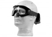 Lancer Tactical CA-211B Airsoft Safety Mask Standard - Black Frame/Clear Lens