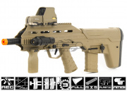 APS UAR Urban Assault Rifle Airsoft Gun (Dark Earth)