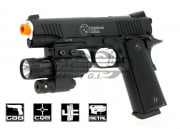 RWA Nighthawk Custom Recon 1911 Blowback CO2 Pistol Airsoft Gun (Black)