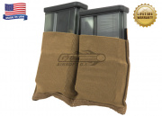 Blue Force Gear Ten-Speed HK417 Double Magazing Pouch (Coyote)