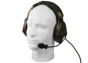 BRAVO Push-To-Talk (PTT) Head Set #7 SD Model For Motorola 1 Pin Version