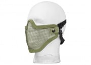 Bravo Strike Steel Half-Face Mesh Mask (OD)