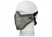 Bravo Strike Steel Half-Face Mesh Mask ( Ranger Green )