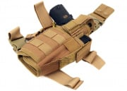 Lancer Tactical Tornado Drop Leg Holster (Tan)