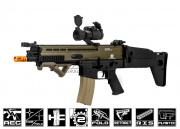 Classic Army FN SCAR-L Airsoft Gun ( Sportline / 2-tone / Black Lower Receiver )
