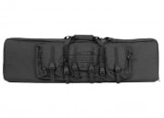 "Condor Outdoor MOLLE 46"" Deluxe Double Rifle Gun Bag w/ Flap (Black)"