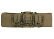 "Condor Outdoor MOLLE 46"" Deluxe Double Rifle Gun Bag w/ Flap (Tan)"