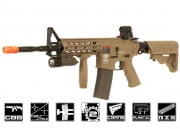 G&G Combat Machine CM16 Raider-L Carbine GBB Airsoft Gun (Tan)