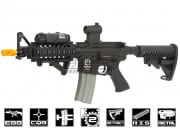 Javelin Airsoft Works Full Metal M4 CQB RIS Electric BlowBack AEG Airsoft Gun (Carry Handle)