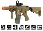 Javelin Airsoft Works Full Metal Super M4 CQB AEG Airsoft Gun ( Dark Earth )