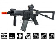 Knight's Armament PDW Sport AEG Carbine Airsoft Gun by Lancer Tactical (Black)