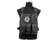 Lancer Tactical Spec Op Molle Plate Carrier (Black)