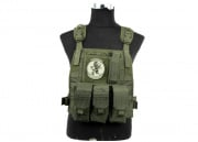 Lancer Tactical Spec Op Molle Plate Carrier (OD Green)