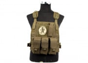 Lancer Tactical Spec Op Molle Plate Carrier (Tan)