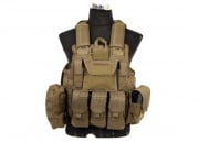 Lancer Tactical Strike Plate Carrier Vest (Tan)