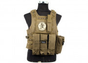 Lancer Tactical Quick Release Armor Carrier (Tan)